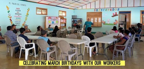 march birthday workers aleluya